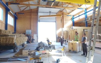 CHANTIER – ECOLE GRANDEUR NATURE